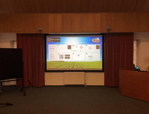 Nieuwe presentatieruimte Aviko